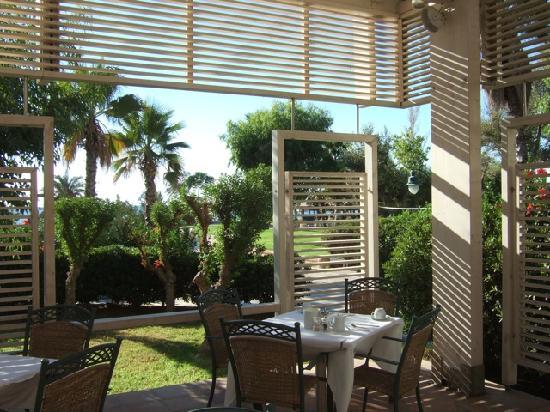 Esperos Palace Resort : unser Tisch im Restaurant