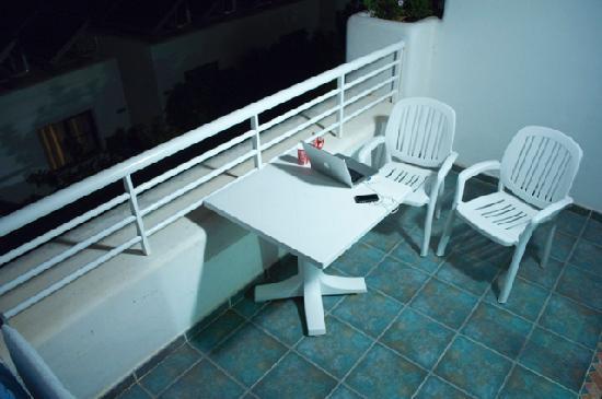 Relaxia Lanzaplaya: La Terraza de la habitación