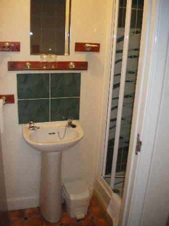 Pier Hotel: Small bathroom but everything you need