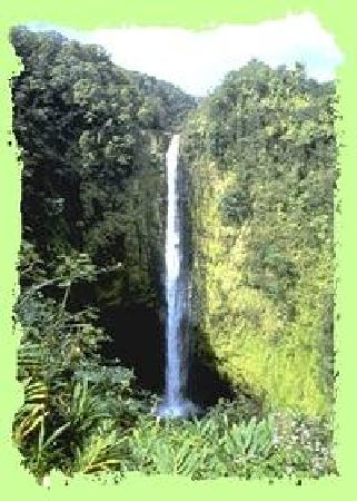A'alani Volcano Heart Hawaii : Akaka Falls in Hilo