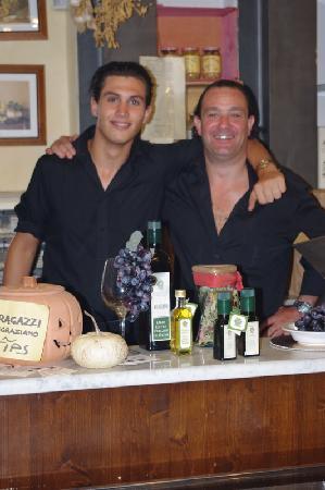 Osteria Antica Sosta : Lorenzo and Anthony