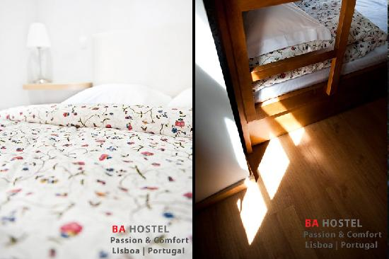 B.A. Hostel (Bairro Alto Hostel) : Rooms