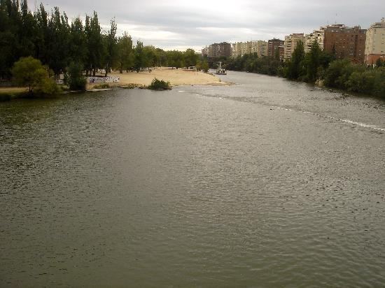 Pisuerga river, Valladolid, Spain