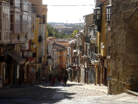 Calle Balborraz, Zamora, Spain