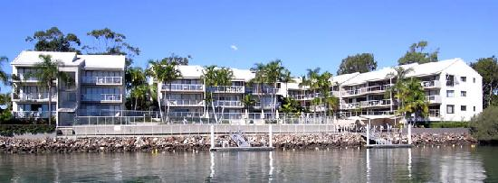 Noosa Shores Resort : View from Noosa River