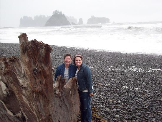 Dazzled by Twilight: La Push Beach - watching for wolves