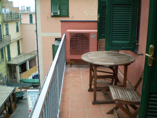 Hotel Marina Piccola: Our balcony