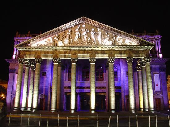 Guadalajara Metropolitan Area, Mexique : Teatro Degollado