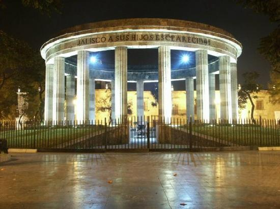 Guadalajara Metropolitan Area, México: Rotonda de los Jalisciences Ilustres