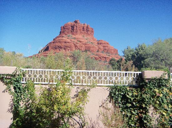 Canyon Villa Bed and Breakfast Inn of Sedona: our patio