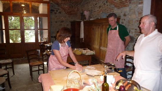 Villa Fabbroni: Cooking