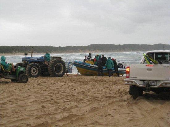 Sodwana Bay Lodge: safely back at the beach