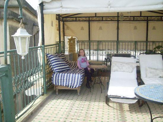Riad Dar Cordoba: la terraza