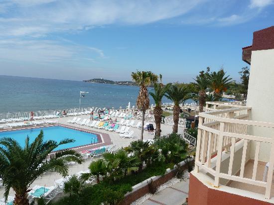 Ephesia Holiday Beach Club: Balcony View