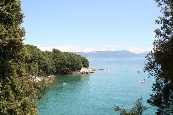Istria, Kroatien: spiaggia a Duga Luka, Croazia