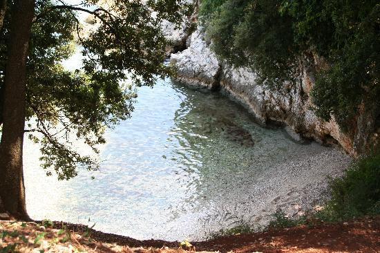 spiaggia a Duga Luka, Croazia