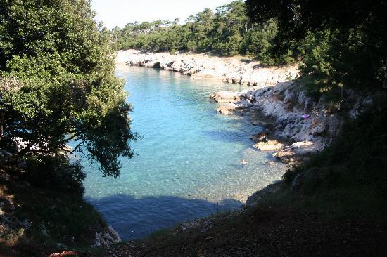 Istrie, Croatie : spiaggia a Duga Luka