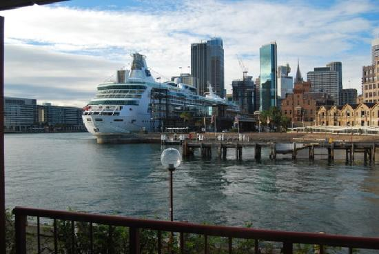 Park Hyatt Sydney : view from our room