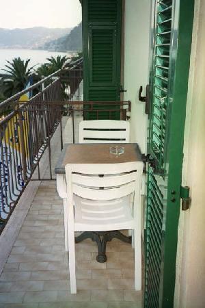 Hotel Danio Lungomare: Balcony