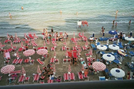 Hotel Danio Lungomare: View from the balcony : the beach