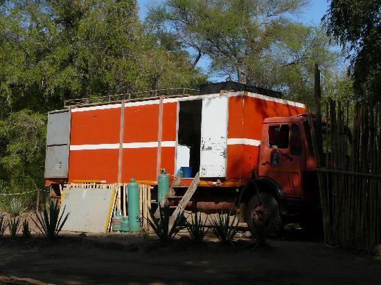 Mandrare River Camp : Kitchen in lorry