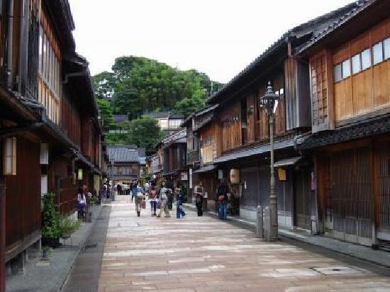 Higashichaya Old Town : 街並み
