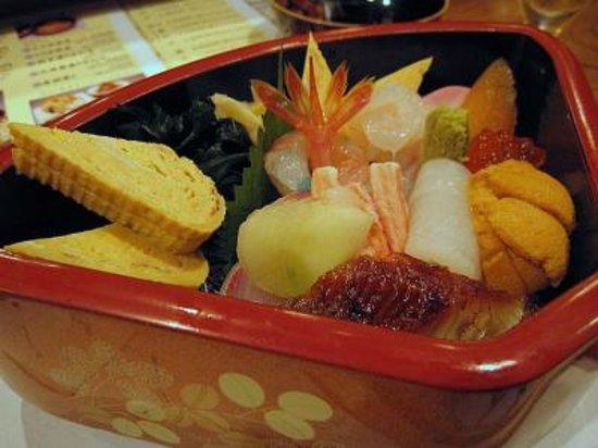 Janome Sushi, Honten: チラシ寿司