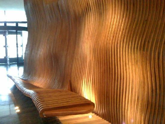 striking reception design picture of hotel indigo shanghai on the
