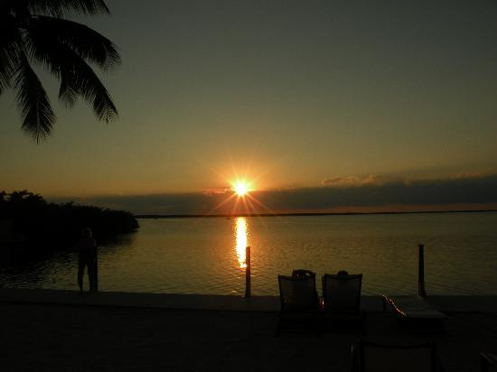 Hampton Inn Key Largo: nice sunset