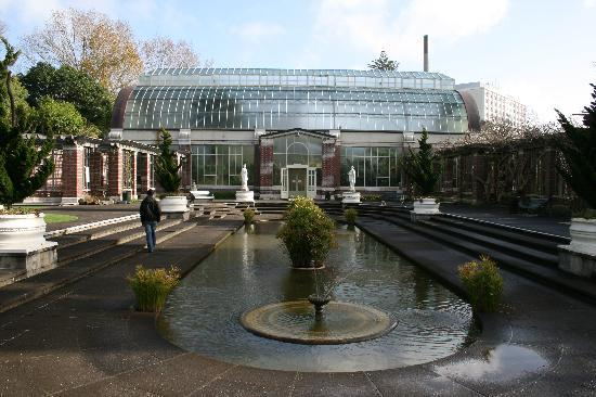Auckland Domain: Wintergarten