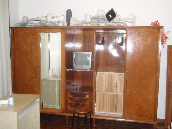Hostel Central Station: Armario/Store habitacion