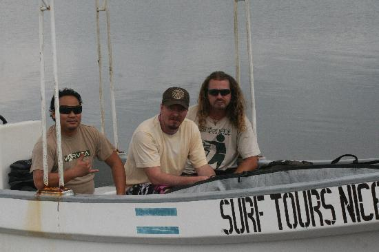 Surf Tours Nicaragua: boat excursions, just like the surf flix