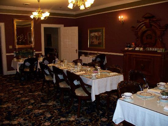 Kingsley Inn: Elegant dining