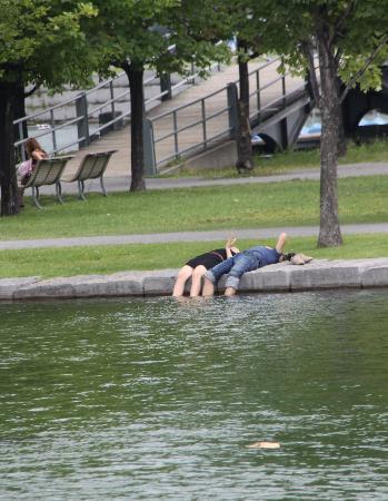 Montreal, Kanada: Relax en el parque