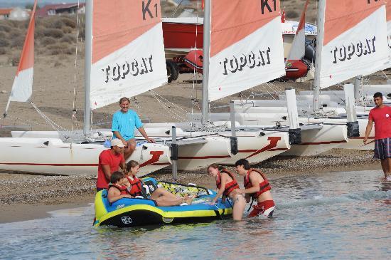 Robinson Club Nobilis : die Wassersportbasis