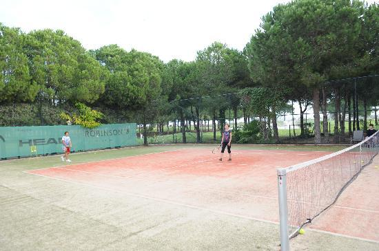 Robinson Club Nobilis : die Tennisplätze