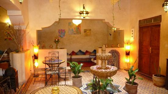 Riad El Mess: Salon