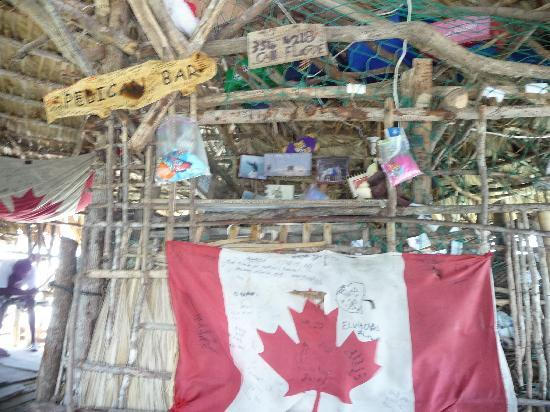 Floyd's Pelican Bar: For the Canadian folk who wanted to see their flag