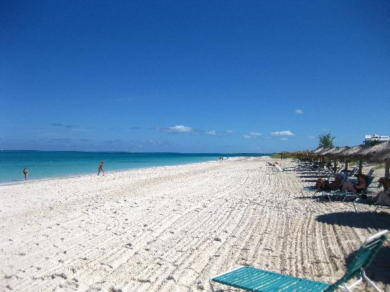 Sands at Grace Bay: The beach
