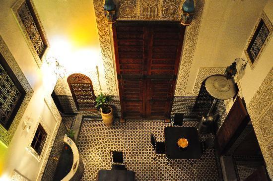 Riad Boujloud: Riad interior