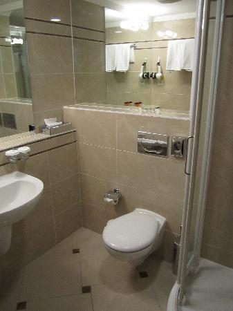 Apollo Hotel: Bathroom