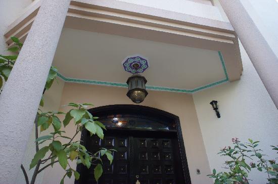 Nomad Guest House: front door