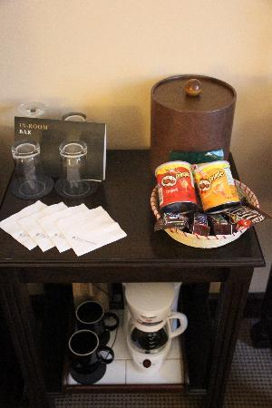 Real InterContinental Guatemala: amazing coffee