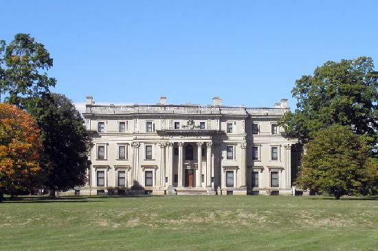 Vanderbilt Mansion National Historic Site : Vanderbilt Mansion, Hyde Park