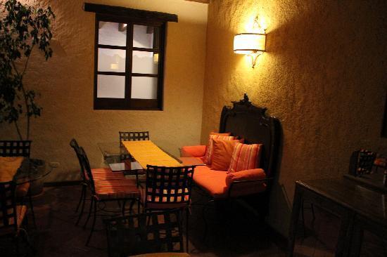 Hotel Lo De Bernal: Dining area
