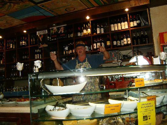 A la Valigia: Bartender