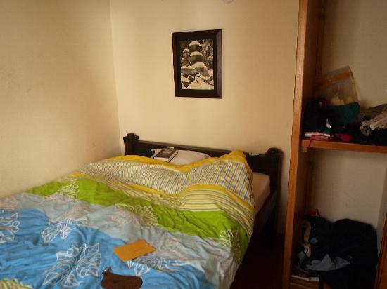 The Cranky Croc Hostel: Very basic room