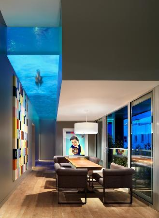 Penthouse Dining Amp Glass Bottom Pool Picture Of The