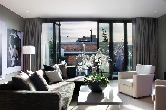 Penthouse Living Room Picture Of The Keefer Suites Vancouver Tripadvisor