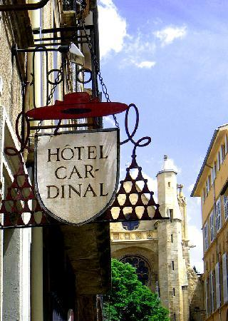 Hotel Cardinal: Eingang Hotel